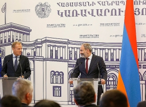 Nikol Pashinyan and Donald Tusk make announcements