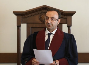 Armenia Constitutional Court's decision on Kocharyan's preventive measure