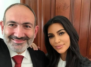 Nikol Pashinyan holds meeting with Kim Kardashian