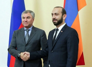 Ararat Mirzoyan holds telephone conversation with Russian Chairman of State Duma Vyacheslav Volodin