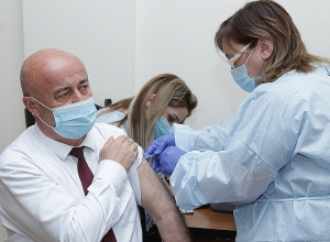 NA Deputies and Representatives of Staff Vaccinated against Coronavirus